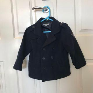 Boys Winter Coat PUMPKIN PATCH Navy Blue, Size 3
