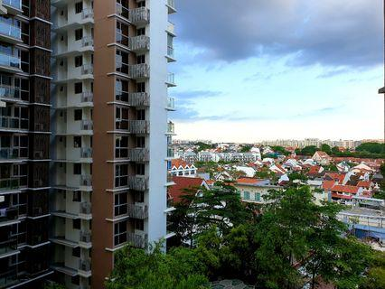 High Floor Quiet facing 1 bedder, good size and unblocked view