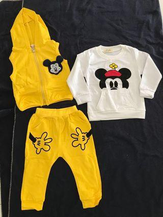 🚚 Baby Clothes (Mickey)