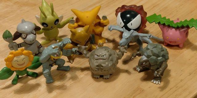 寵物小精靈扭蛋公仔 Pokemon Gacha toy figurines
