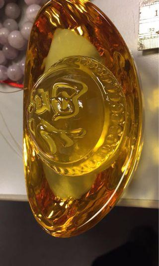 🚚 黃水晶元寶