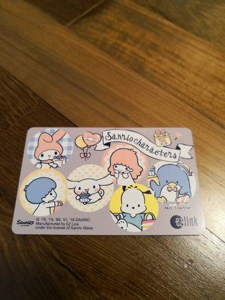 Sanrio characters ez link card