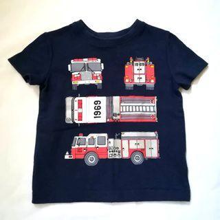 Baby Gap Trucks Shirt