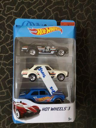 Hotwheels Ford Escord rs lot of 3