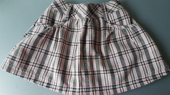 Mothercare Checkered Skirt