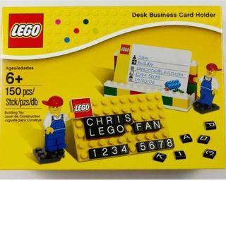 Lego 850425 Business Card Holder (含大量字粒) 已開盒,內袋未開,全新未砌