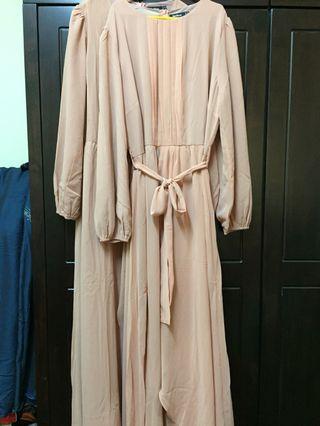 Bridesmaids dress (2pcs)