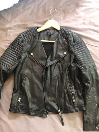 Topshop pleather jacket