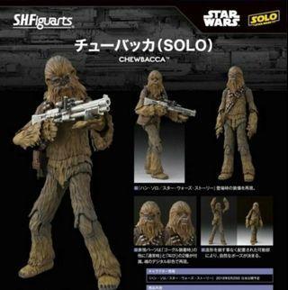 SHF STAR WARS Chewbacca 朱兒 (SOLO) han solo外傳 星球大戰