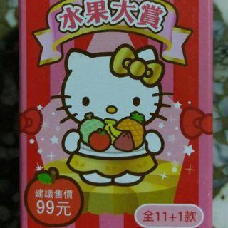 hello kitty水果大賞公仔