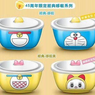 哆啦A夢美味陶瓷方碗