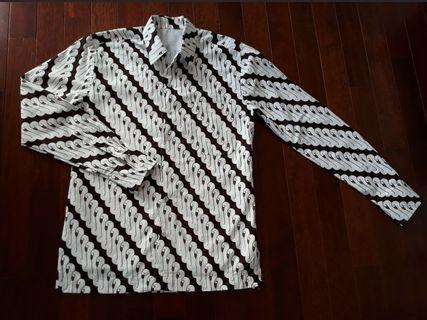 Kemeja Batik Lurik Pria