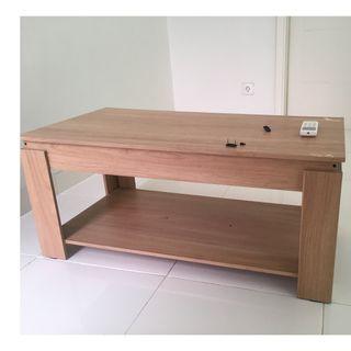 Coffee table meja tamu 120 x 60 x 50