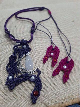 🚚 客製化玉飾繩編-項鍊手環耳飾腳鍊