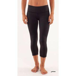 Lululemon Size 4 Reversable Leggings