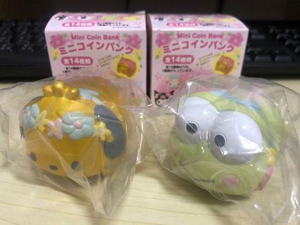 日本 Sanrio 迷你錢罌 PC狗 Keroppi