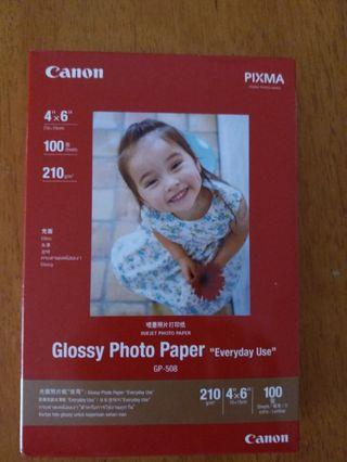 """Canon 相紙 (4"""" x 6"""")  100 張"""