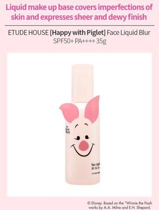 🚚 [Facial] Happy with Piglet Face Liquid Blur