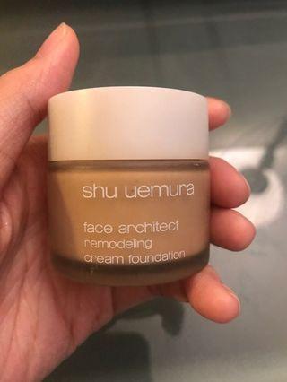 Shu Uemura 粉底 cream foundation