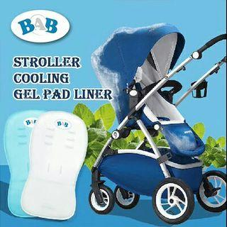 FREE MAIL Cooling Pad for Baby Stroller / Car Booster Seat