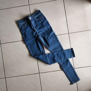 [NEW] High Waisted Denim Pants