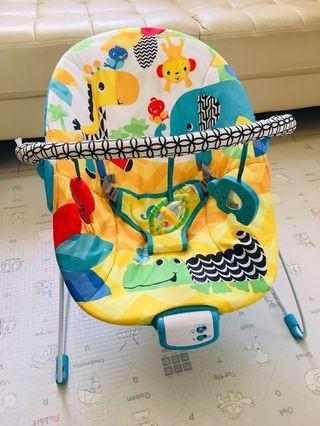 Bright Starts Safari Smiles Bouncer BB搖椅/彈力椅