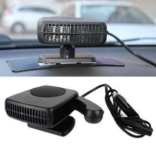 Auto Car Electric Cold Heating Fan Heated Windshield Defroster Demister 12V