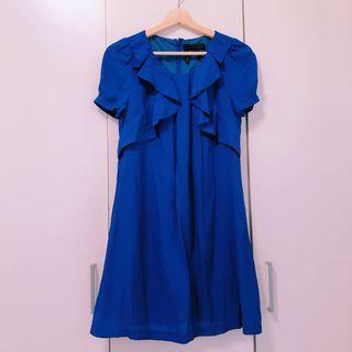 🚚 bread & butter 靛藍色洋裝
