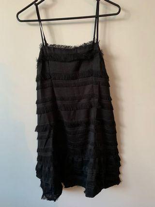 black drill dress