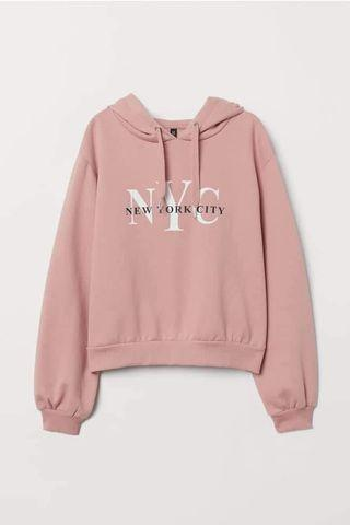 H&M NYC Hooded Jacket