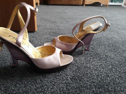 Vintage lilac shoes prada