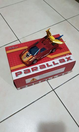 Henkei Transformers Hot Rod with Parallax Add On