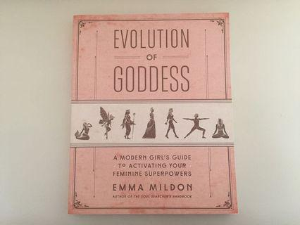 Evolution of Goddess by Emma Mildon