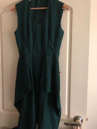 🚚 近新JNBY綠色洋裝