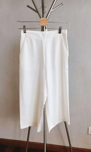 Brand New White Culottes