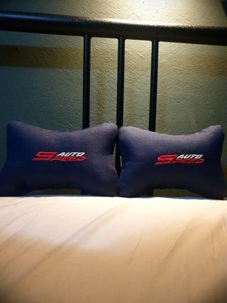 Neck Rest Pillow (Navy Blue)