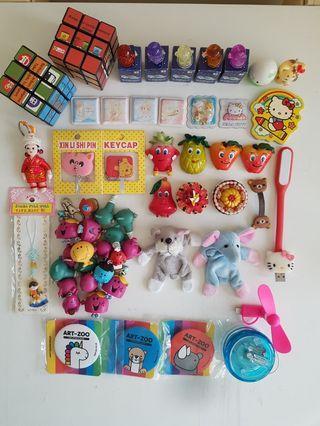 Hello Kitty Doraemon Mr Men Little Miss Pooh Figurine Magnet Usb Light