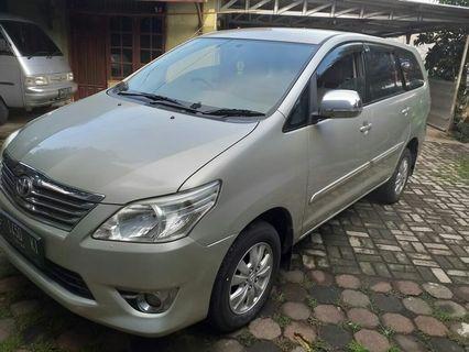 Inova 2013 type G bensin