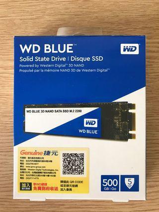 🚚 WD M2.SATA SSD 512GB