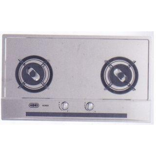 Brand New 2-Burner Stainless Steel Gas Hob for your Home!