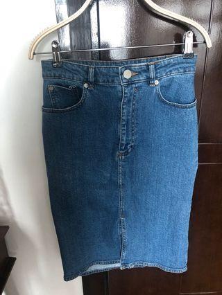 Rok denim ( pencil skirt ) ASOS