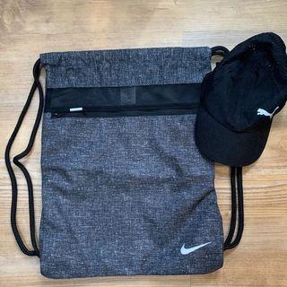 String Bag Nike + Puma Cap