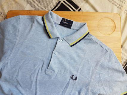 Fred Perry Polo Shirt (Blue)