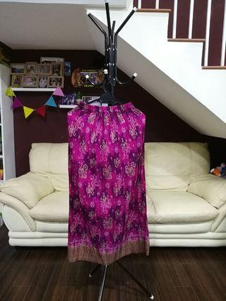Stretch skirt sarong pink