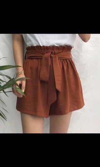 🚚 Ulzzang Drawstring Tie Casual Shorts