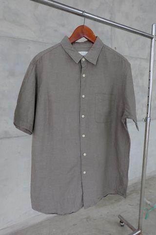 Kemeja Linen Uniqlo (XL)