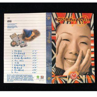 Sandy 林憶蓮 Sandy'94 首版紙套圖案CD 1994年【不議價】