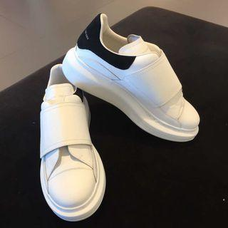 Authentic Alexander McQueen white sneaker