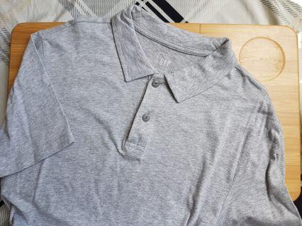 Gap Polo Shirt (Gray/Grey)