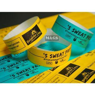 TYVEK/Paper Wristbands Printing Malaysia